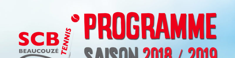 Programme 2018/2019